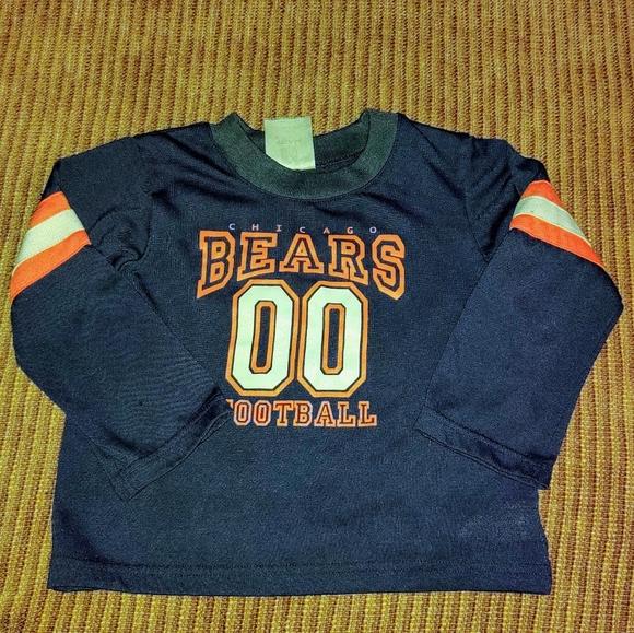 kids chicago bears shirt